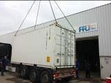 Schlämmentwässerung + Flotation + Biologie in einem Kläranlagen Container von ClearFox®