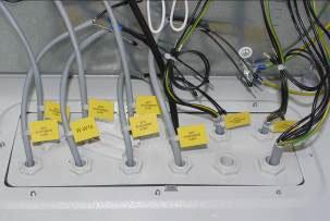 Elektrokabel Anschlüsse