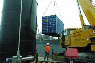ClearFox® Containerbiologie, Nachkläreinheit, Pufferbelüftung