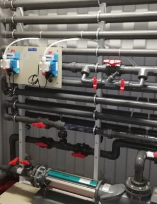 industrielles Abwasserbehandlungssystem in Saudi Arabia