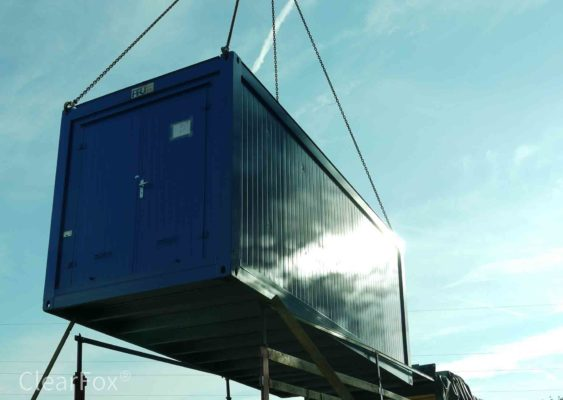 Industrielle Abwasserreinigung mit CearFox SBR technology