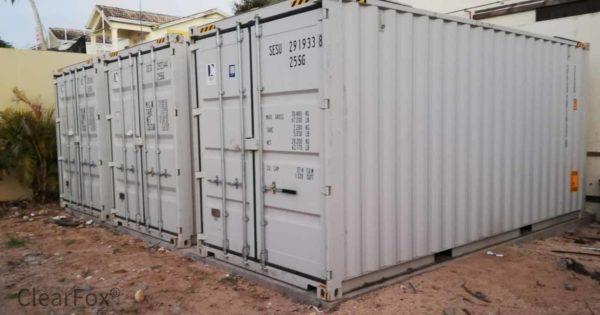 Container-Kläranlage