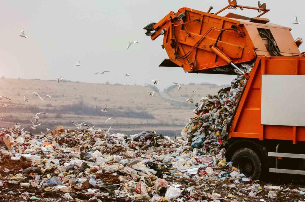 Abwasserreinigungssystem für Mülldeponie