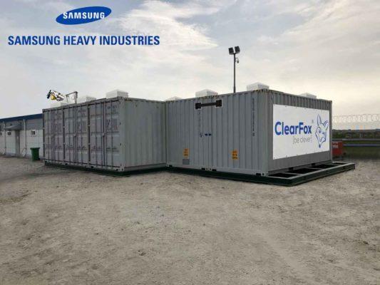 ClearFox Klärwerk für Samsung