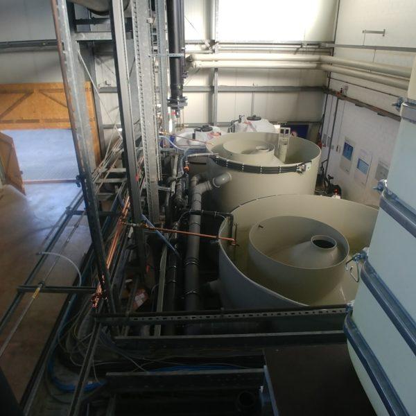 chemische Abwasserreinigung