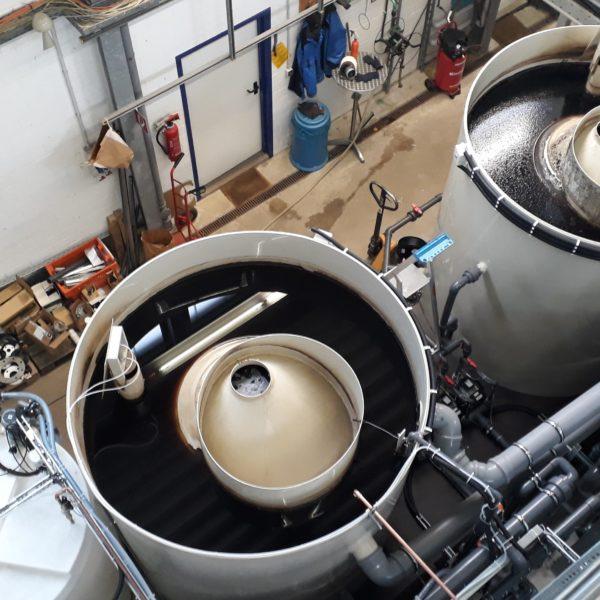 chemische Abwasserreinigungsanlage