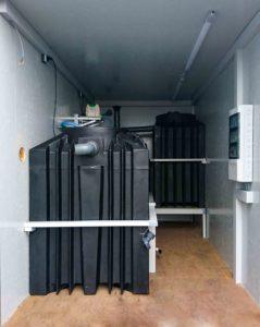 Biologische Abwasserbehandlung im modularen Container
