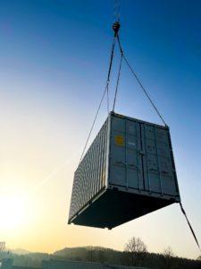 Containerisierte Abwasserreinigung