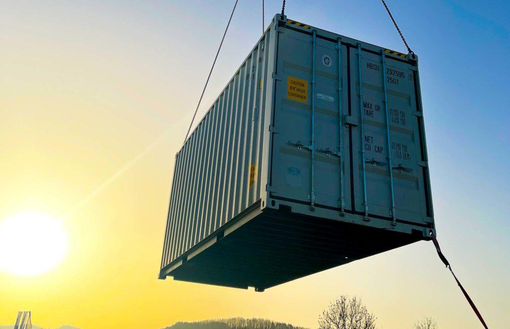 Containerisierte Abwasserbehandlung