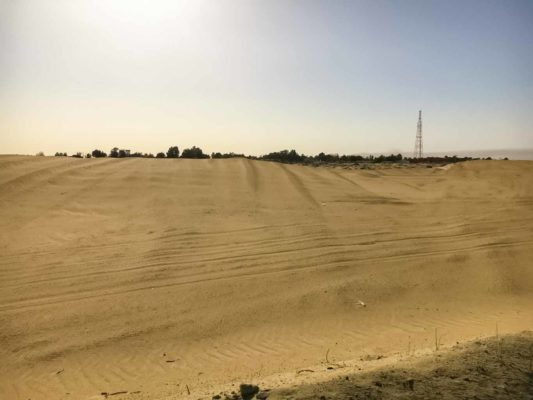 Abwasserreinigung für Wüste