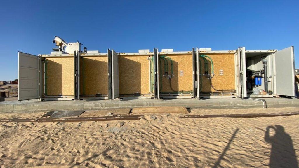 Container für die Abwasserbehandlung