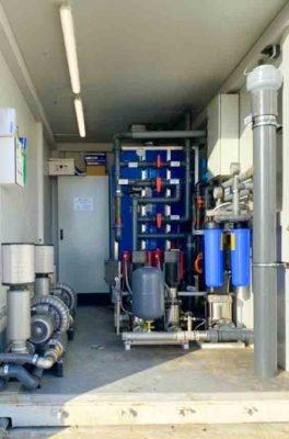 Abwasserbehandlung in Öl- und Gasarbeiterlagern