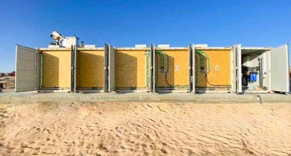 Abwasserreinigung in Containermodulen