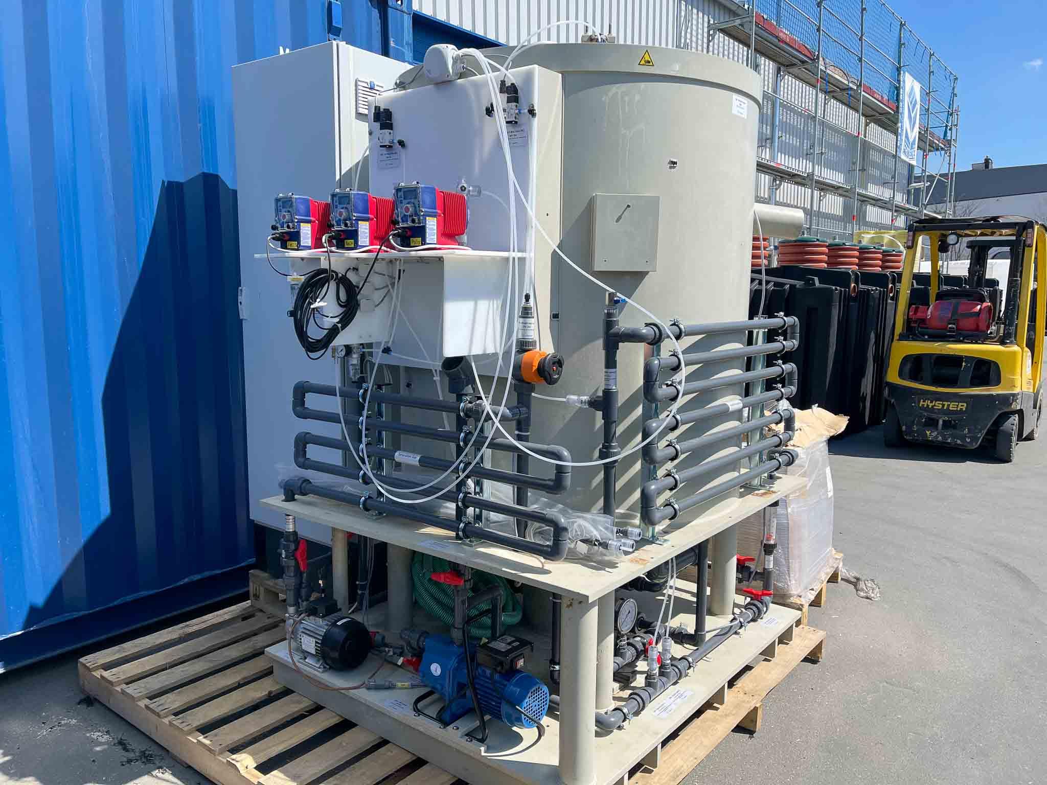Pilotprojekt für Prozessabwasser in Albanien