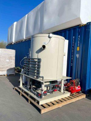 Pilotprojekt Behandlung Prozessabwasser in Albanien