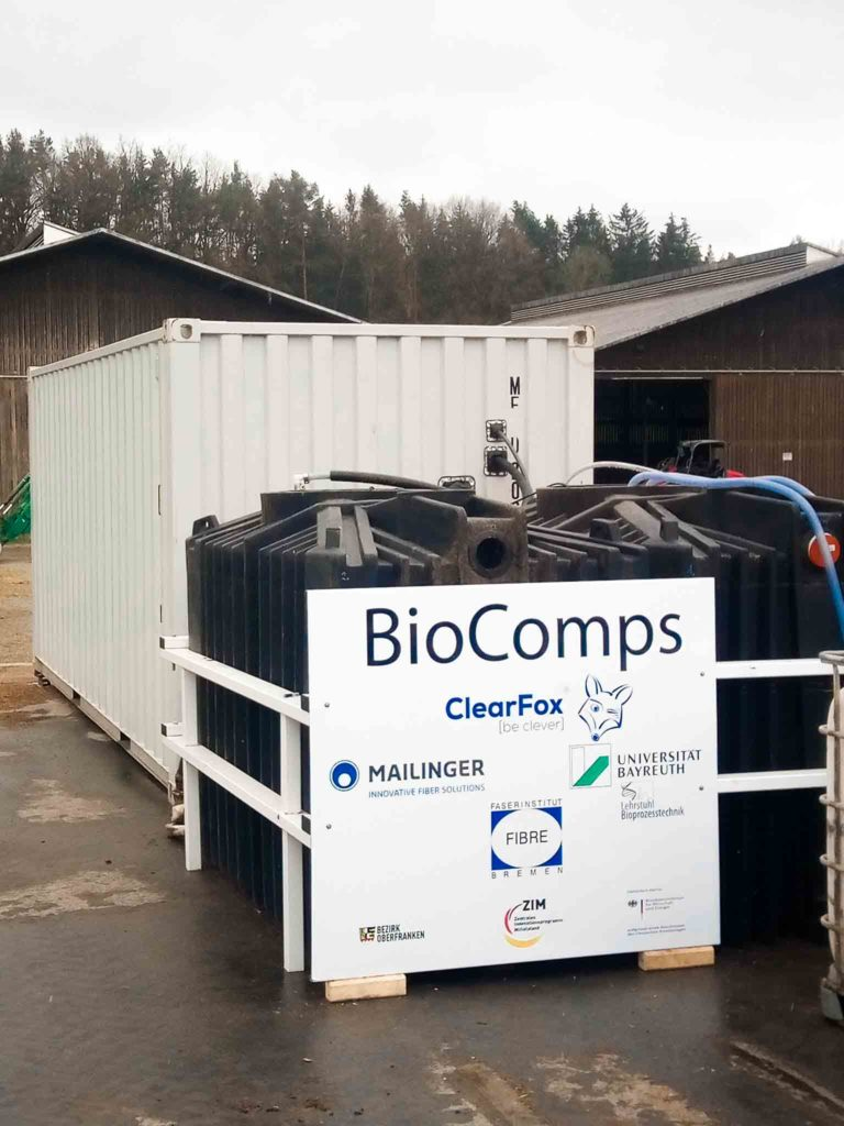 BioComps Project Gülle Reinigung