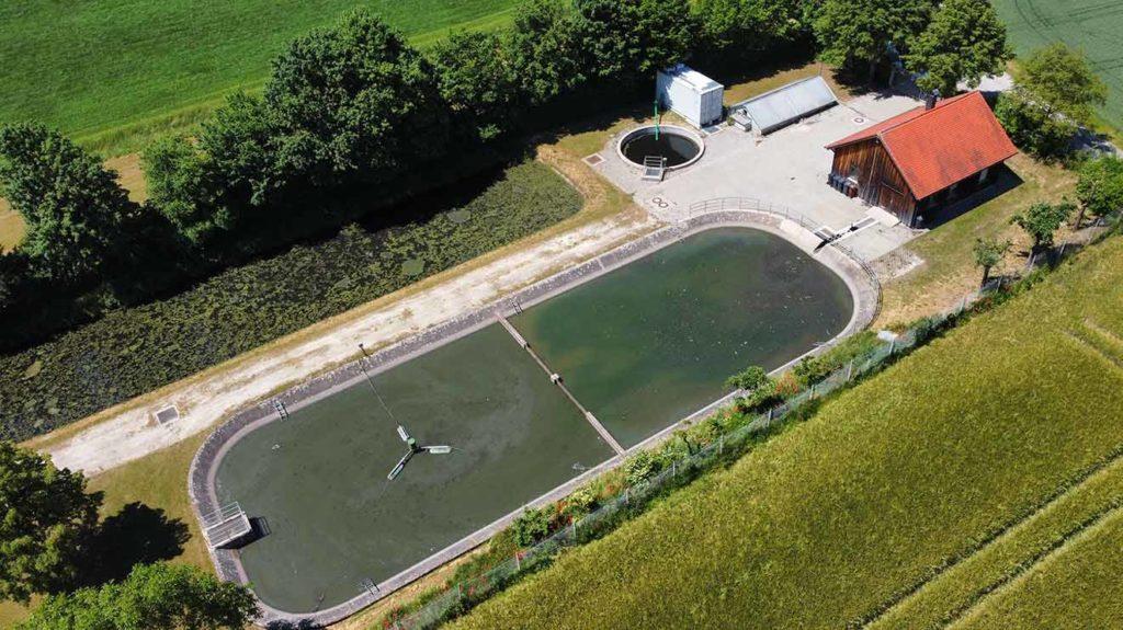 FBR-Verfahren für Abwasserbehandlung