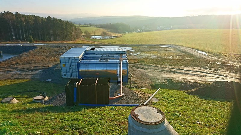 ClearFox® Abwasserreinigung in der Milchviehhaltung