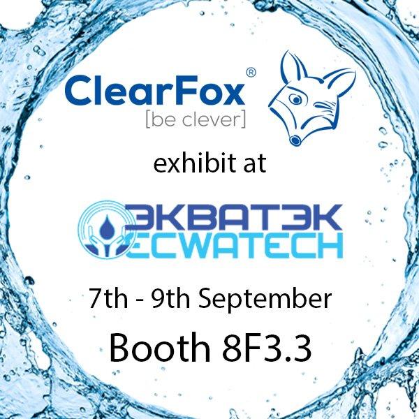 ClearFox® auf der Ecwatech in Russland